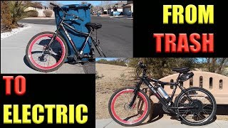 How to make a electri bike easy