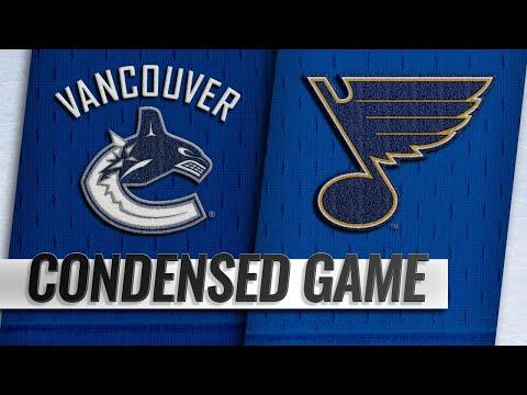 Обзор матча «Сент-Луис Блюз» — «Ванкувер Кэнакс»