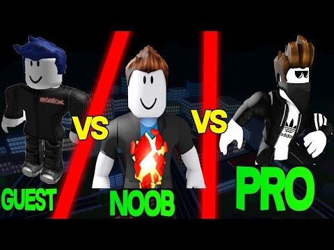 Roblox Jailbreak Guest vs Noob vs Pro
