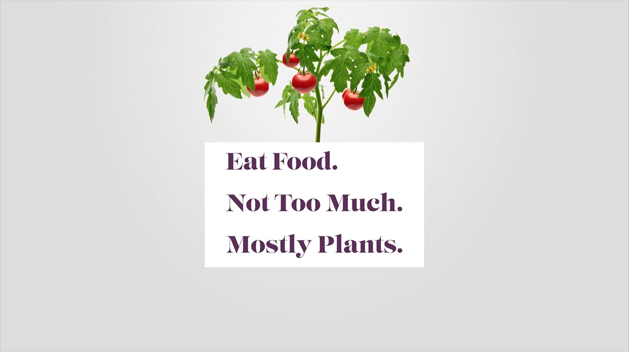 Diet Quotes Wallpaper Eat Food Not Too Much Mostly Plants Michael Pollan