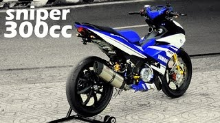 300cc Extreme Yamaha Sniper Jupiter MX LC135 Exciter King Marvz !