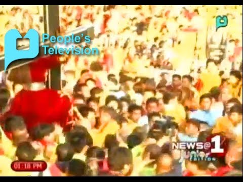 N@1 Junior: The celebration of the feast of Black Nazarene received mixed reactions