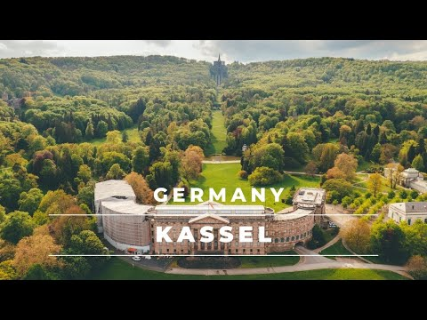 Download Kassel, Germany from above in 4k   Aerial footage of the city of Kassel