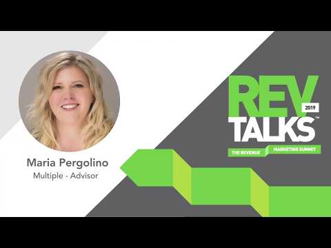 Marketing To The Enterprise | Maria Pergolino at REVTalks 2019