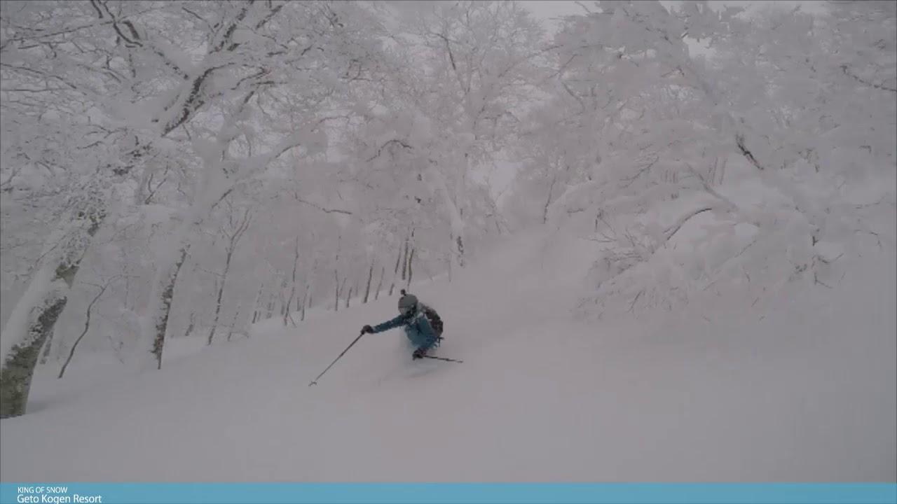 夏油高原スキー場 ツリーランエリア本格始動