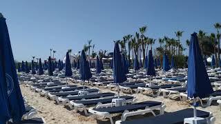 март Айя Напа Нисси пляж 2020 Кипр March Ayia Napa 2020 Cyprus Nissi beach