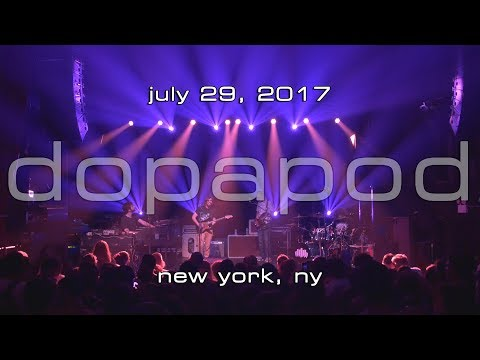 Dopapod: 2017-07-29 - Gramercy Theatre; New York, NY [4K]