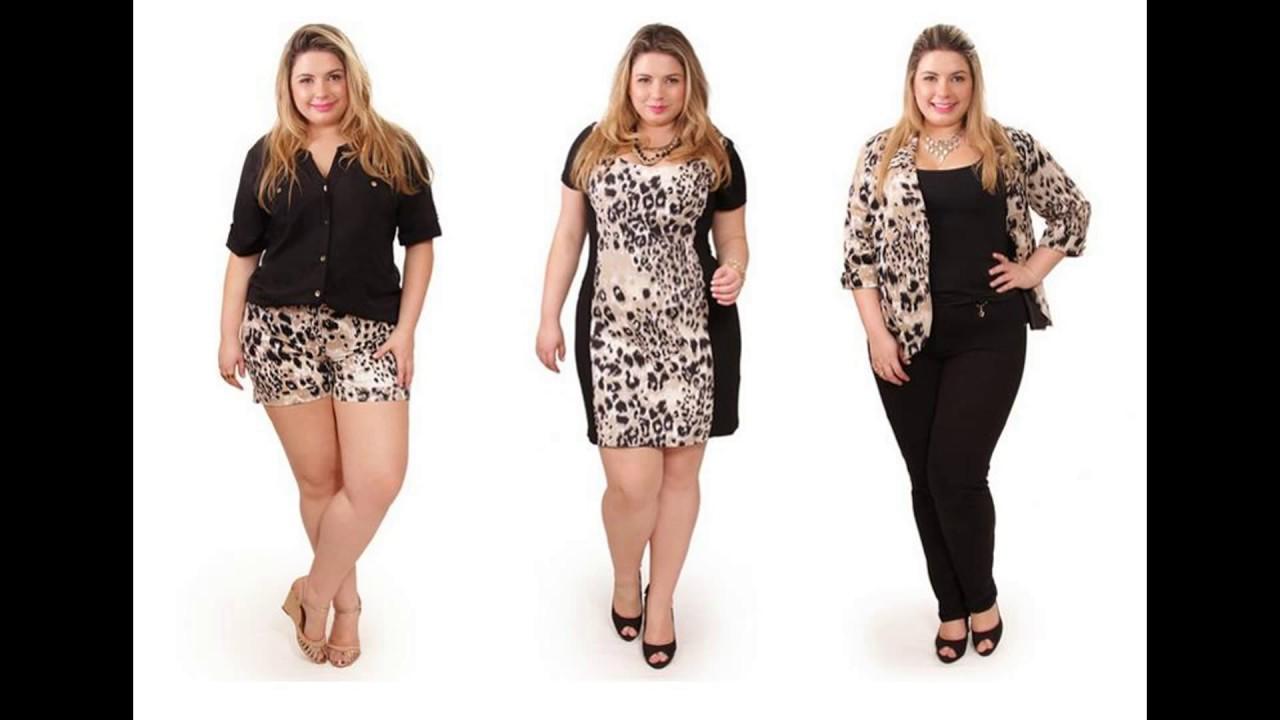 16744989e Roupas Femininas Plus Size Para Comprar Em São Paulo - YouTube