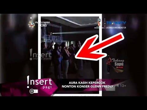 AURA KASIH Kepergok Nonton Konser GLENN FREDLY - Insert 24 April 2018 Mp3