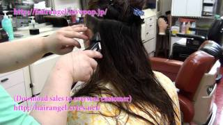 「Hair Angel Vol 43」(hair cut) SAMPLE