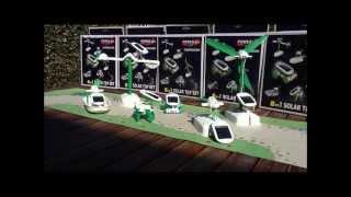 Всі 6-в-1 Сонячної іграшки відео Хамелеон - Зелена енергія іграшки