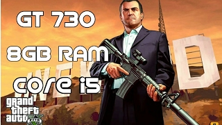 GTA 5 on GT 730 2GB,8GB RAM,Core i5 3.20 GHz (Dedicated to R.I.S GAMING)