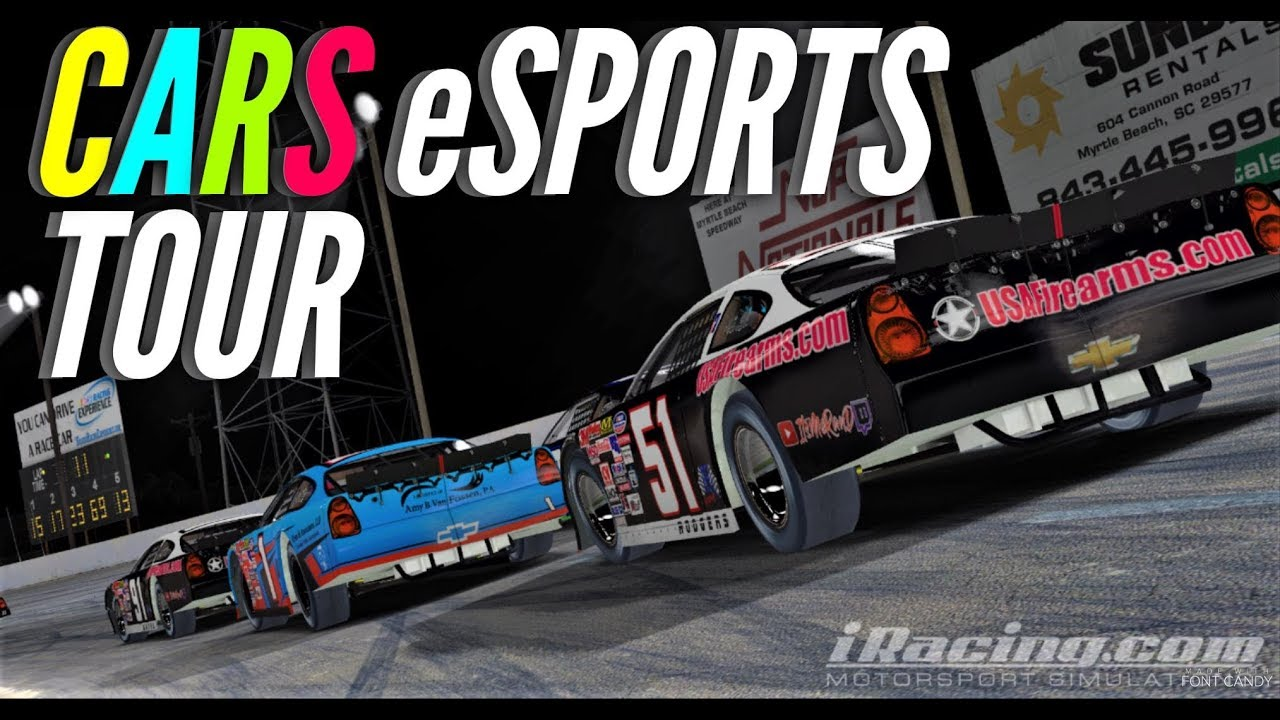 Out with a Bang - SEASON FINALE | Podium eSports CARS Late Model Tour Wk 15  @ South Boston- iRacing