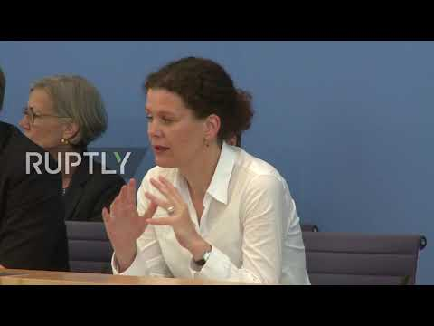 Germany: Merkel takes May's decision to resign 'with respect'