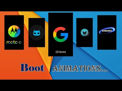 How To Change Android Boot Animation On Samsung Mobile