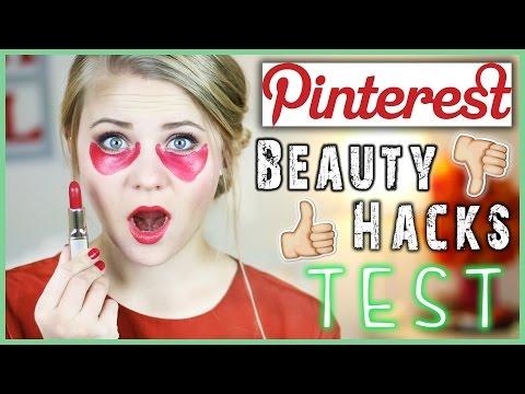 6 PINTEREST BEAUTY HACKS GETESTET - Lippenstift als Concealer?!