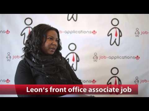 Leon's Front Office Associate Job