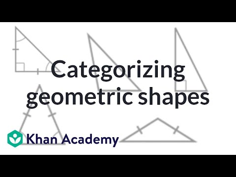 Categorizing geometric shapes: practice examples | 4th grade | Khan Academy
