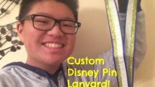 Custom Disney Pin Lanyard Review!