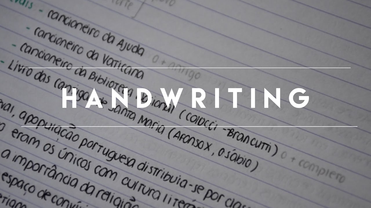 Howto Change Your Handwriting