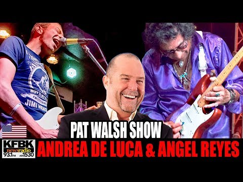 KFBK News Radio Pat Walsh Show Andrea De Luca and Angel Reyes August 4 2017 SACRAMENTO CA