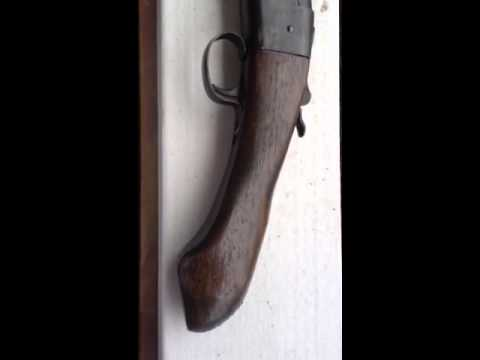 sawed off winchester model- 37  12 gauge