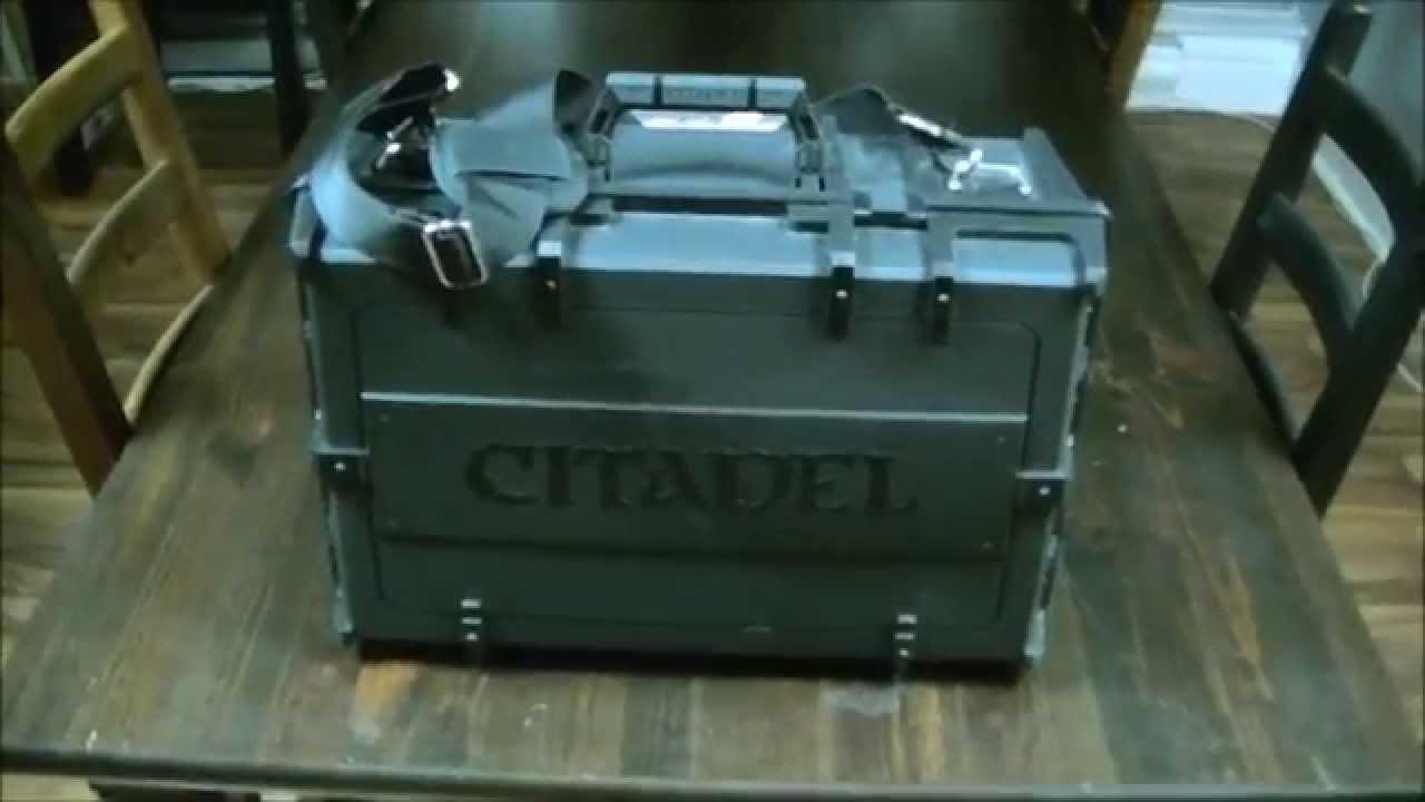 Product Review - Citadel Crusade Figure Case
