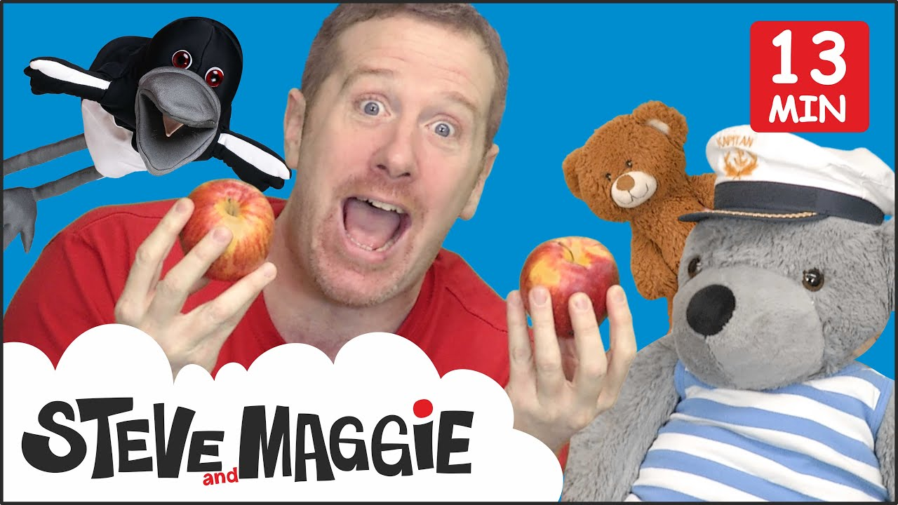 Teddy Bear Stories with Steve and Maggie | Picnic for Kids from Wow English TV | Speak English