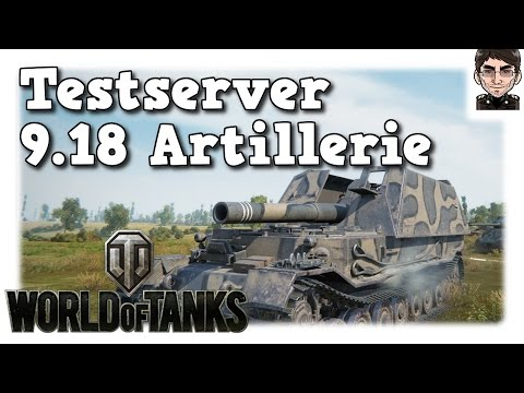 World of Tanks - Testserver 9.18, Artillerie Änderungen [deutsch   News]