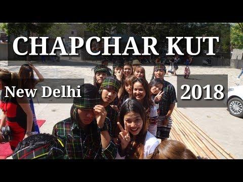 MIZO VLOG Chapchar Kut New Delhi 2018.