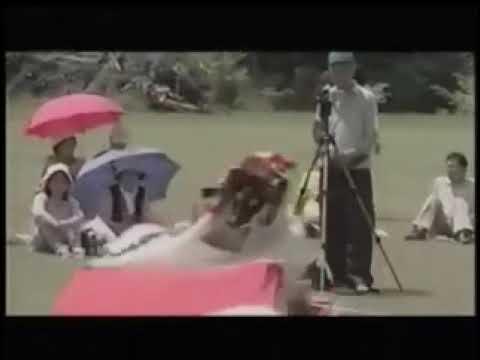 【菅窪鹿踊】膝立て(ひざたて)