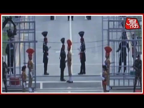 भारत-पाक सीमा पर स्वतंत्रता के रंग! देखिए Atari Border पर आजादी का जश्न