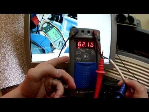 Измерение сопротивления изоляции Мегаомметром Е6-24/2