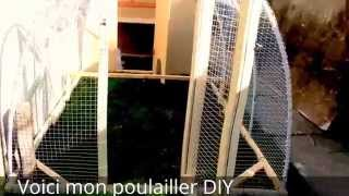 Diy Chicken Coop - Poulailler Tractor