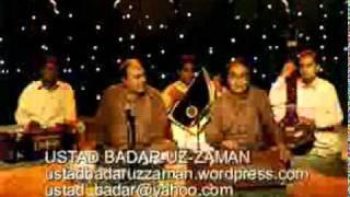 GHAZAL.RAGA MISHRA KIRWANI.TALA DADRA.YEHI BOHAT HAY.Ustad Badaruzzaman.lyrics.Amjad Salam Amjad