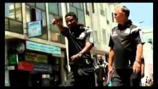 لاعبو مازيمبى الكنغولى يجرون تمارين رياضية لتفكيك استعدادا لمباراة الاحد بالتطوان