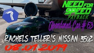 nfs payback abandoned car august 2019