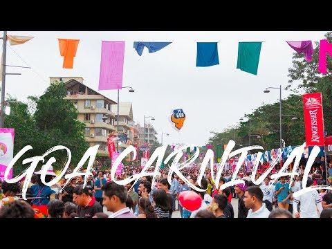 2 Minute Daily Travel Vlog || India - Goa Carnival