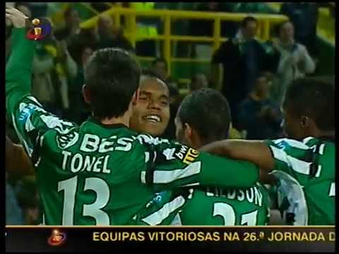 26J :: Sporting - 2 x Leixões - 0 de 2007/2008