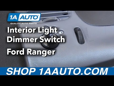 How To Replace Interior Light Dimmer Switch 98-12 Ford Ranger