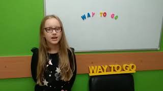 — 6 / Way To Go  школа английского языка