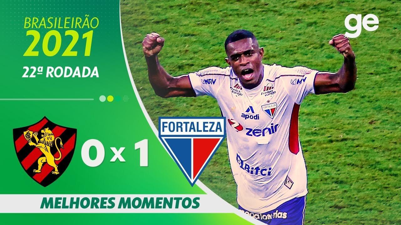 Download SPORT 0 x 1 FORTALEZA   MELHORES MOMENTOS   22ª RODADA BRASILEIRÃO 2021   ge.globo