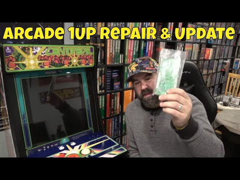 Arcade 1up Board & Trackball Repair Update