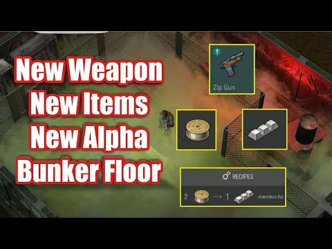 NEW UPDATE 1.5.4!!!! NEW WEAPON , NEW ITEMS AND BUNKER ALPHA FLOOR - Last day on earth : Survival