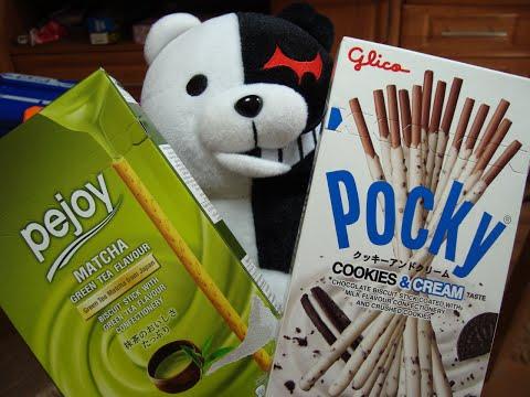 ОБАЛДЕЕННО ВКУСНО! Сладости по совету Minikotic. Pocky, pejoy, matcha. Sweets