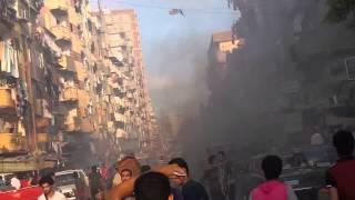 الشرطة تفض مسيرة للإخوان عقب صلاة العيد بالإسكندرية