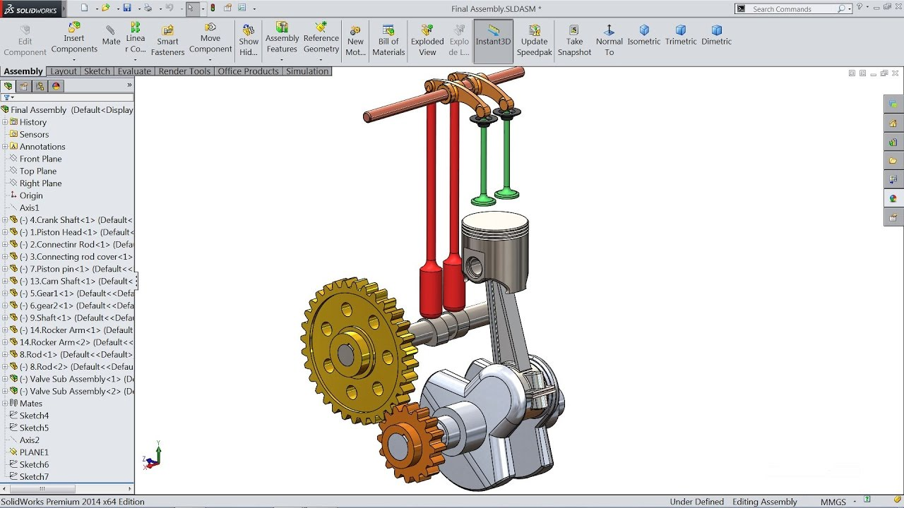 Solidworks tutorial | Sketch Engine in Solidworks