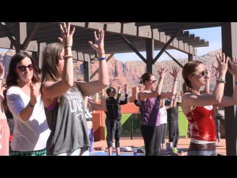 "Free Yoga Class - Forrest Yoga - ""Focus, Breathe, and Feel"" (live at Sedona Yoga Festival)"