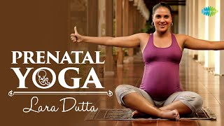 Prenatal Yoga with Lara Dutta - Labour Oriented endurance exercises:Keep--ups