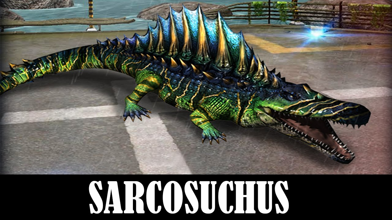 Sarcosuchus Level 40 Jurassic World The Game Youtube